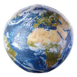 Puhallettava karttapallo Earth Ball 40 cm
