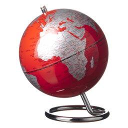Jordglob Galilei röd 13 cm
