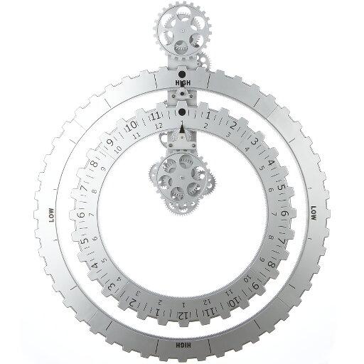 Väggklocka Truth Time Piece silver