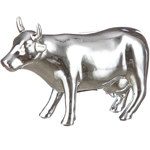 Spargris Kossa silver