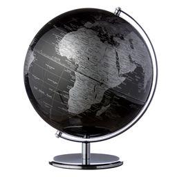Globus sort/sølv 30 cm