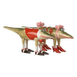 Salt- och pepparströare Krinkles Alligator