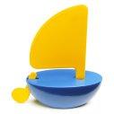 Playsam Segelbåt gul/blå