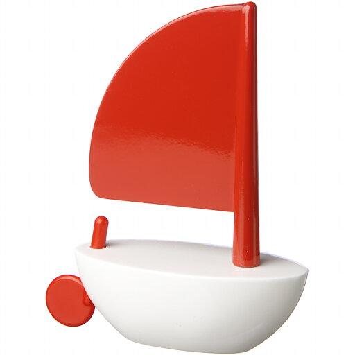 Playsam Segelbåt stor röd/vit