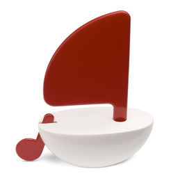 Playsam Segelbåt röd/vit