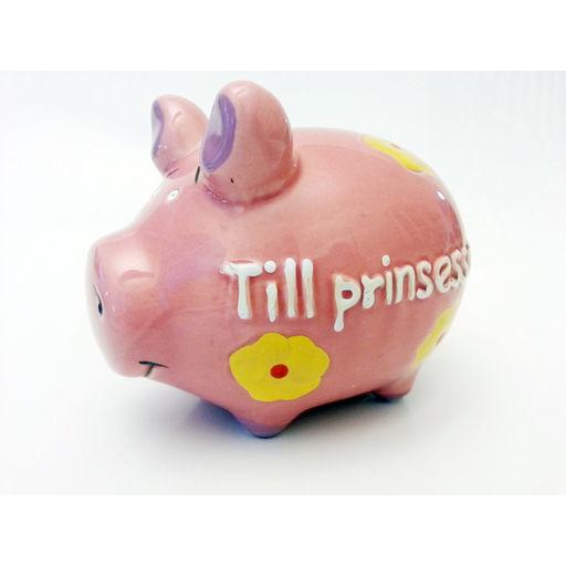 Spargris - Till prinsessan